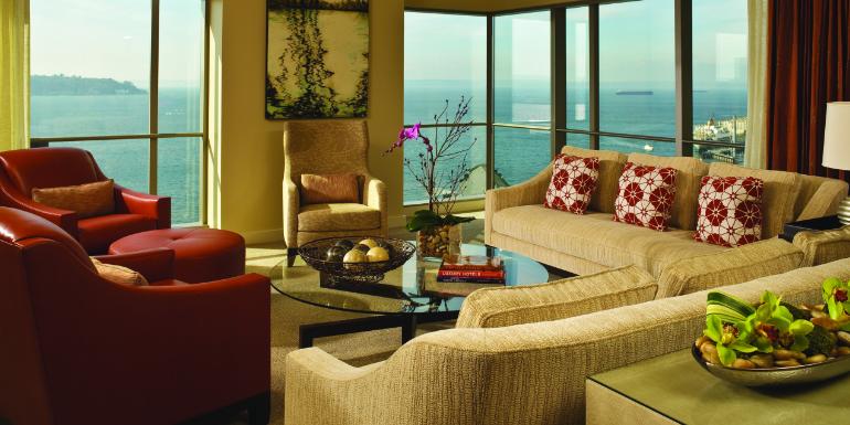 seattle four seasons hotel cruise port