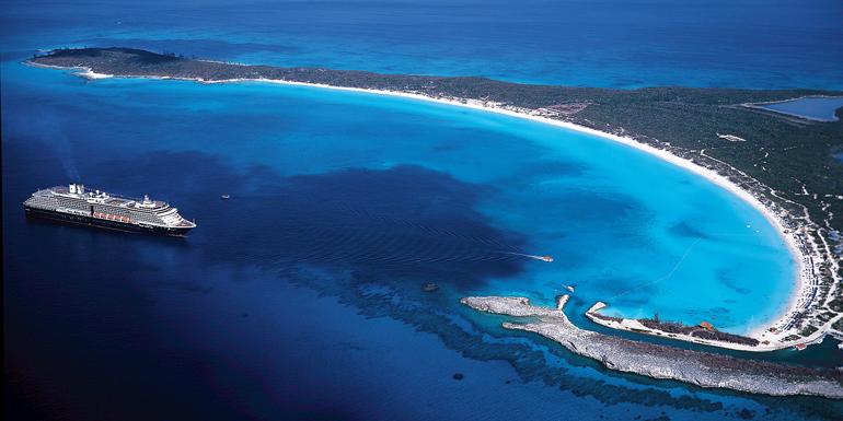 half moon cay cruise private island
