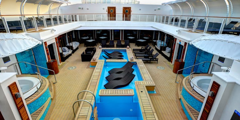norwegian getaway haven courtyard cruise cabin