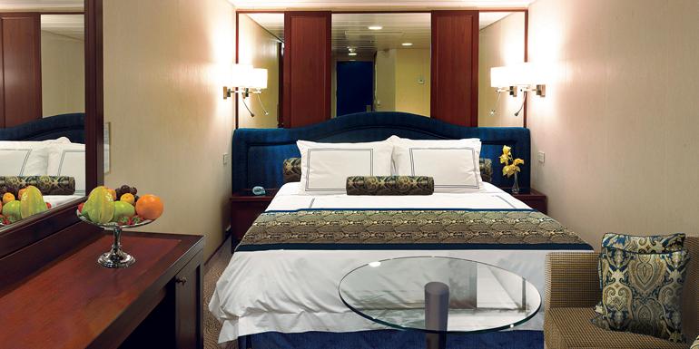 luxury inside cabin cruise ship