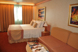 carnival freedom ocean view cabin review