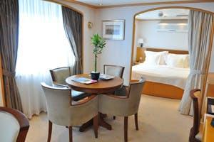 seadream ii 2 cabins admiral suite