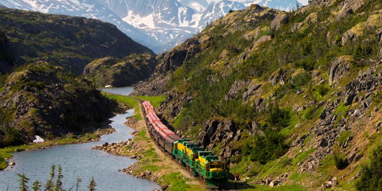 white pass yukon train cruise tours