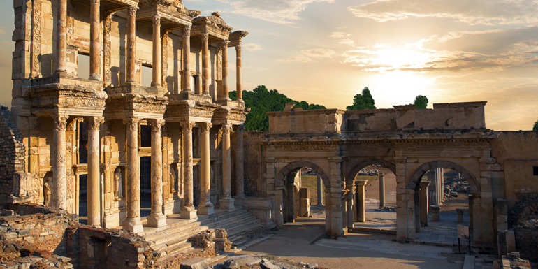 ephesus celsus turkey mediterranean cruise tours