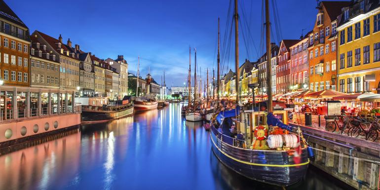 copenhagen denmark walkable cruise ports
