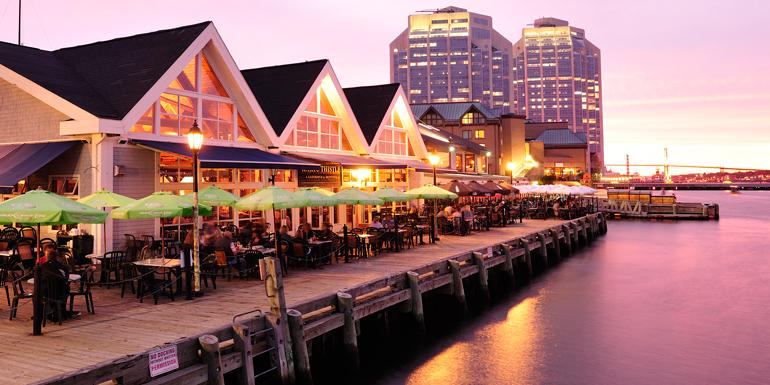 halifax walkable cruise ports