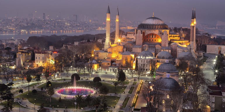 istanbul turkey walkable cruise ports