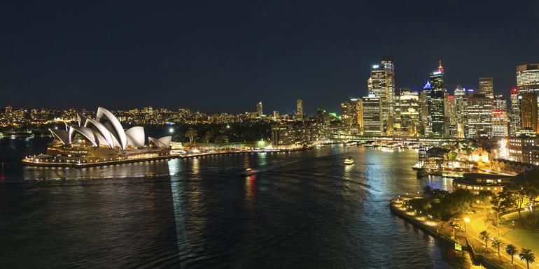 sydney australia walkable cruise ports
