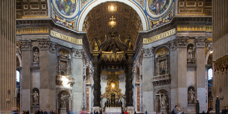 st peters basilica rome western med