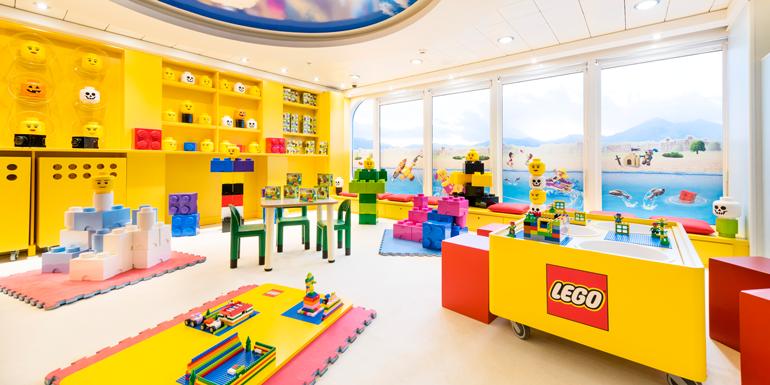 msc armonia lego cruise kids