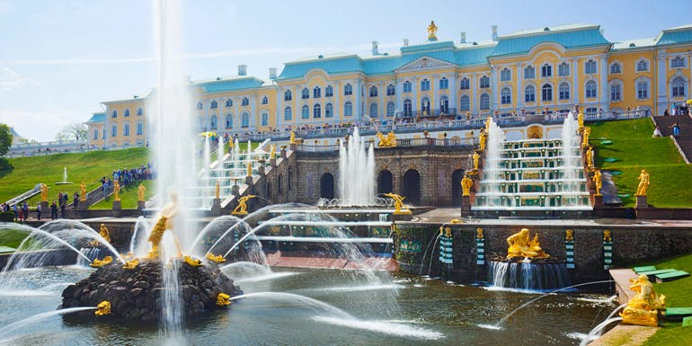 baltic cruise tours peterhof palace petersburg