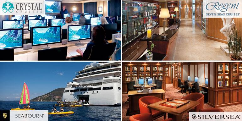activities luxury regent crystal seabourn silversea