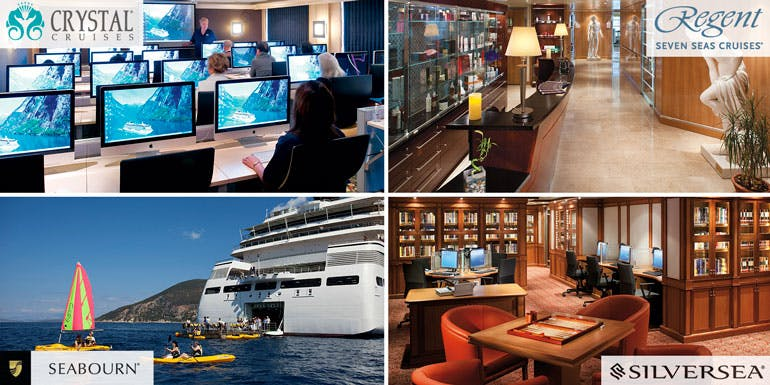 activities luxury regent crystal seabourn silversea