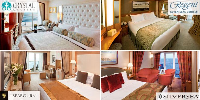 cabins suites luxury cruise crystal regent