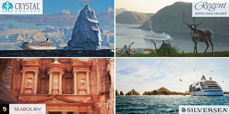 itineraries luxury cruise crystal seabourn regent