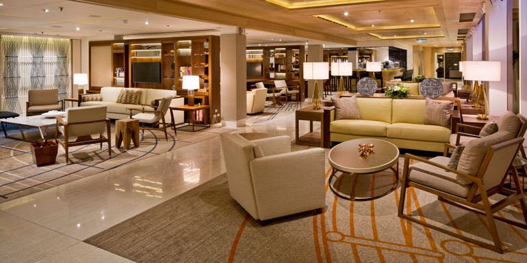 viking ocean cruises living room