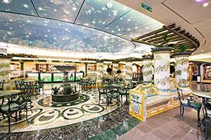 Dining Area MSC Splendida