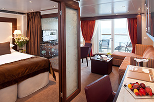 Penthouse Suite seabourn odyssey
