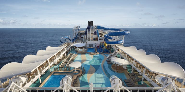 norwegian joy lido deck cruise ship