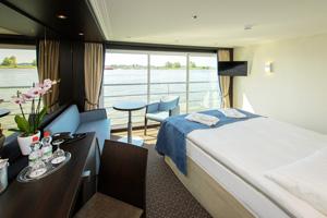 avalon illumination river cruise ship cabin