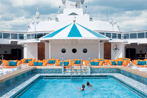 crystal serenity pool cruise ship review