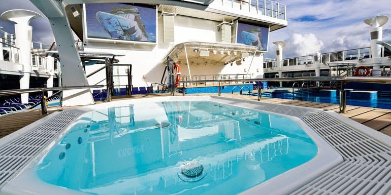 escape pool deck
