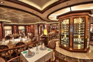 regal princess sabatinis dining cruise ship