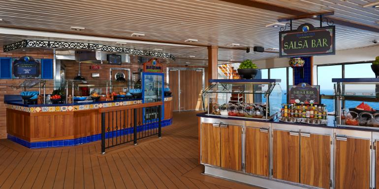 best carnival ships dining 2020 blueiguana