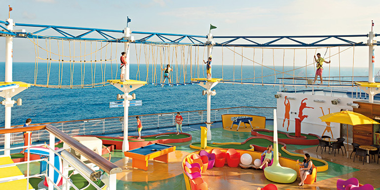 best carnival ships 2018 sky course