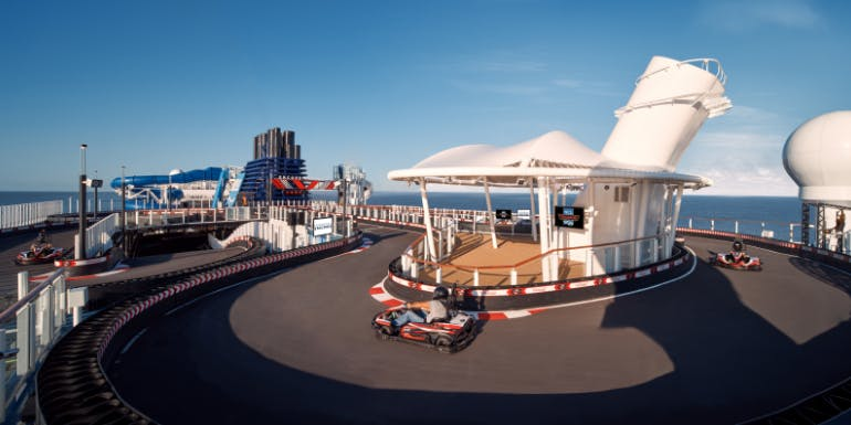 norwegian encore speedway go karts activities best ships 2020