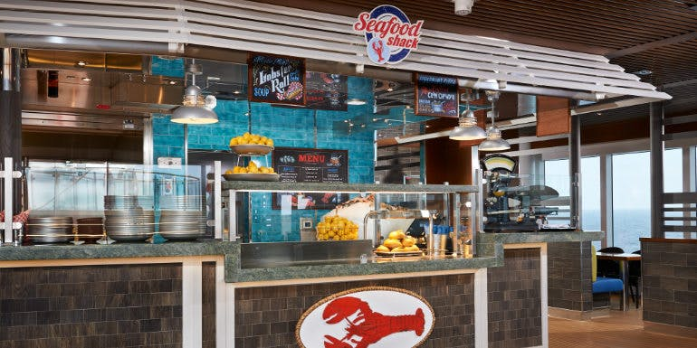 carnival horizon seafood shack cruise ship