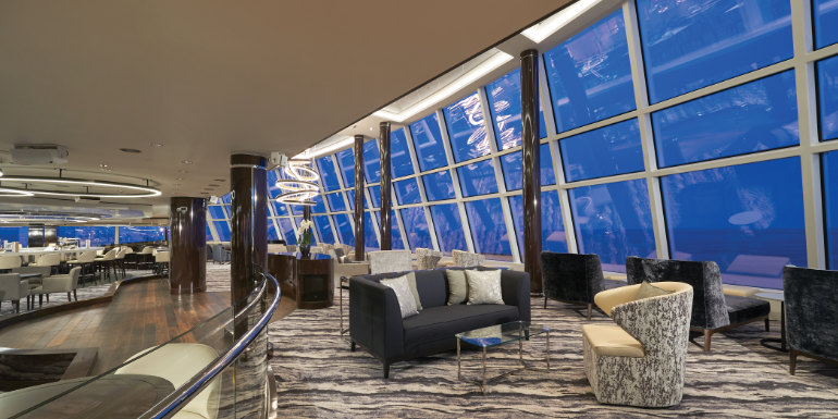 norwegian bliss cruise observation lounge review