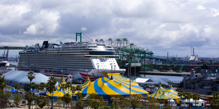 los angeles san pedro cruise port