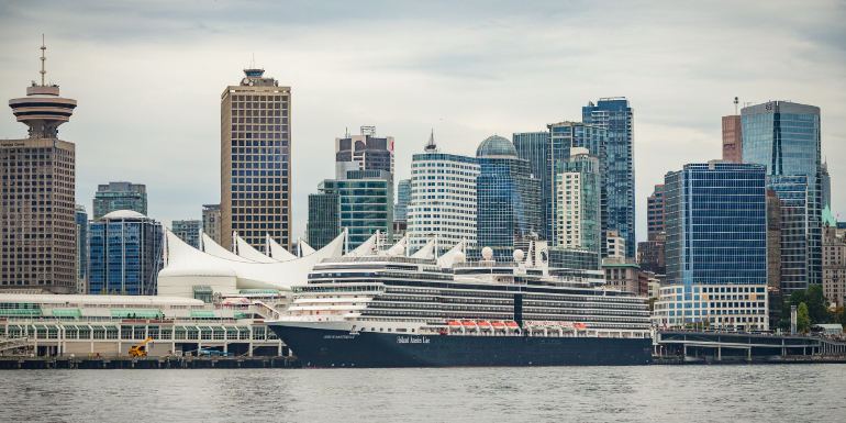 vancouver canada place cruise port holland america
