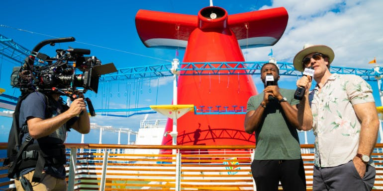 carnival cruise thrillist comedy competition