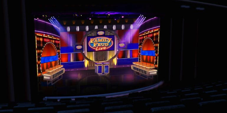 carnival mardi gras family feud live entertainment