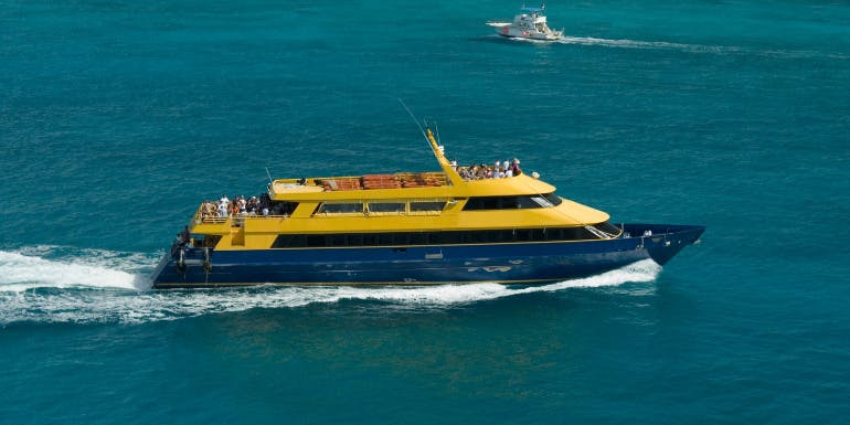 cozumel mexico ferry explosion warning lifted