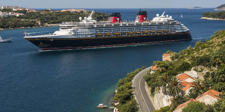 disney magic dubrovnik croatia