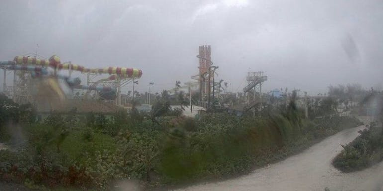 perfect day cococay webcam hurricane dorian