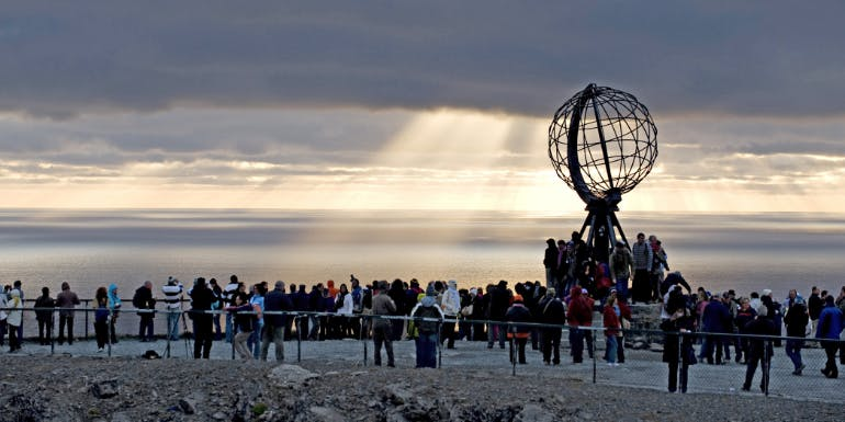 nordkapp north cape norway msc cruises