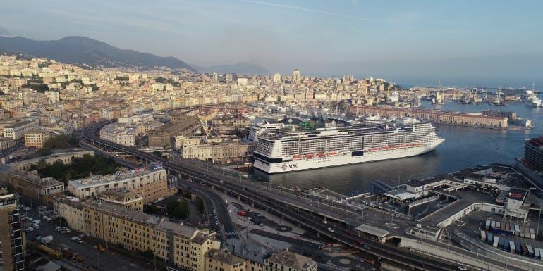 msc grandiosa genoa italy resume cruise