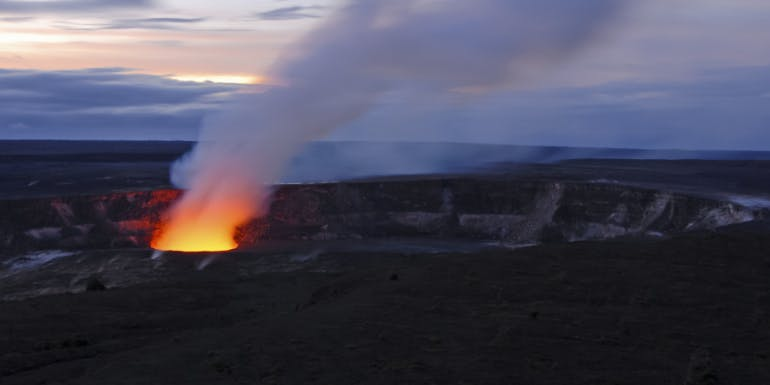 norwegian cruise port hawaii volcano cancel