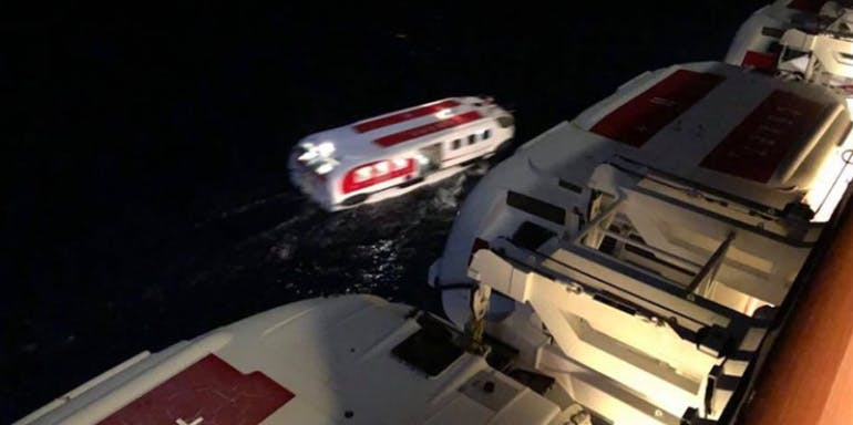 norwegian epic overboard passenger rescue bahamas