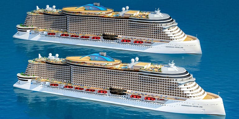 norwegian line announces new cruise ships