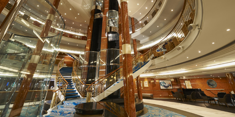 norwegian sky cruise atrium refurbishment renovations