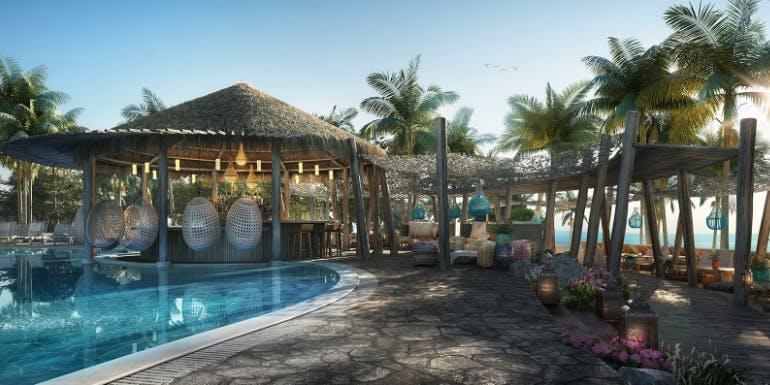 virgin voyages beach club bimini pool destination