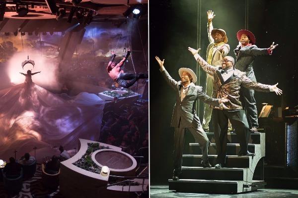 anthem seas vs norwegian escape entertainment
