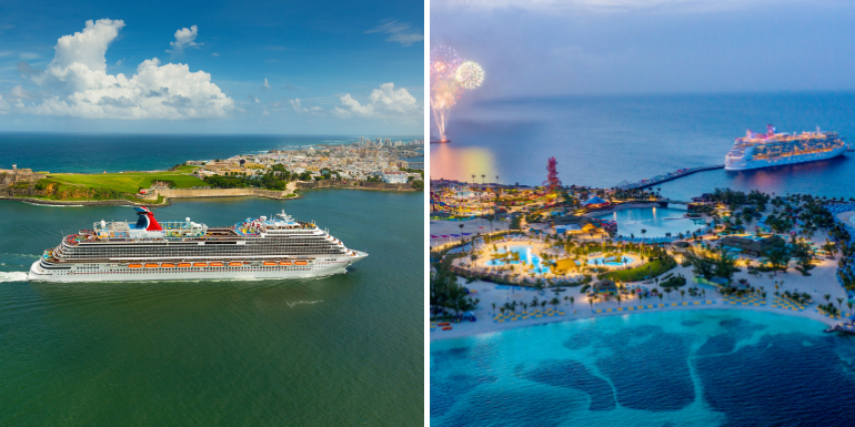 carnival royal caribbean prices deals cruise