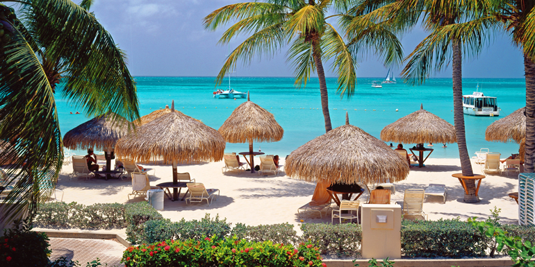 aruba palm beach caribbean best beaches