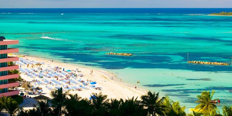cable beach nassau bahamas best caribbean